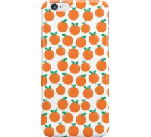 Oranges - sweet fruit summer fresh vegan vegetarian juicing cleanse art print home office decor iPhone Case/Skin