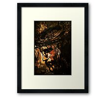 THE PASSION Framed Print