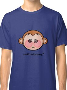 Hello Monkey dazzling T-shirts Classic T-Shirt