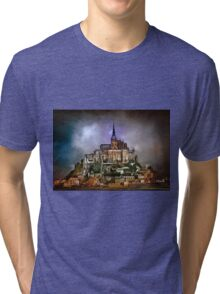 Mont Saint Michel  Tri-blend T-Shirt
