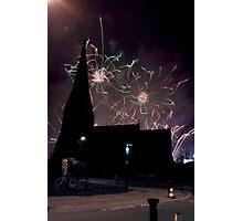 Blackheath Fireworks Photographic Print