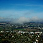 Low cloud from Oxley Lookout - Tamworth NSW Australia by Craig Stronner