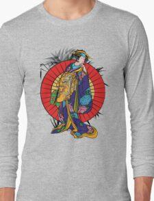 Japanese girl Long Sleeve T-Shirt