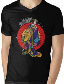 Japanese girl Mens V-Neck T-Shirt