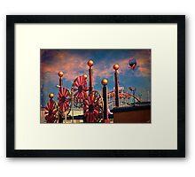 Luna Park, Brooklyn, New York Framed Print
