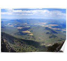 Power's Lookout, King Valley Poster