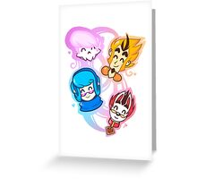Mystery Skulls Greeting Card