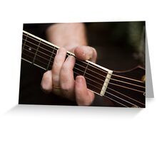 Low Notes Greeting Card