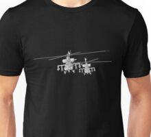 Apache AH-64a 3D Model Toon Render Unisex T-Shirt