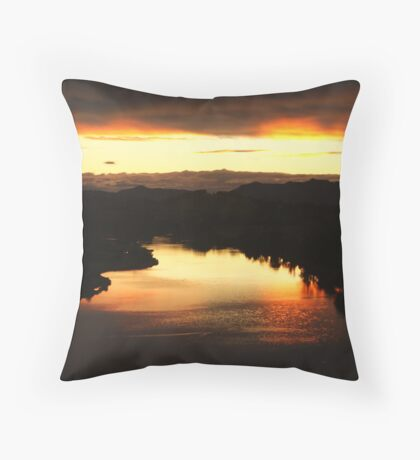 Reflection from Above Throw Pillow