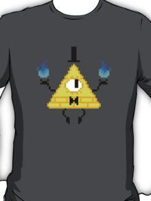 Bill Cipher Pixel T-Shirt