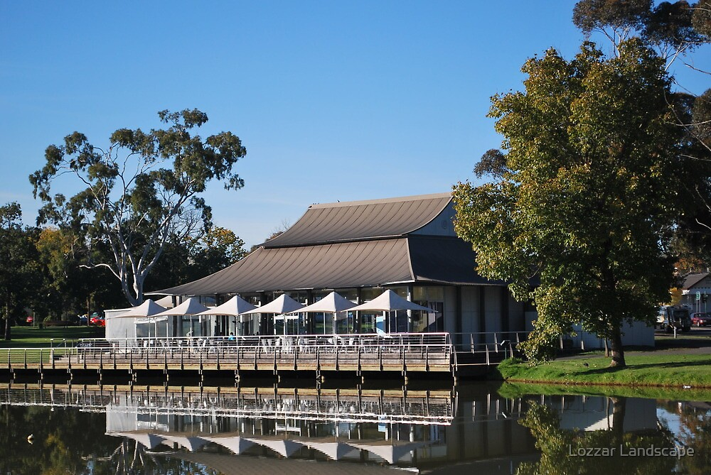 A Lake Weeroona Late' by Lozzar Landscape