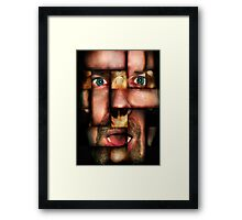 Alternative Faces Series - COMPLEXION Framed Print