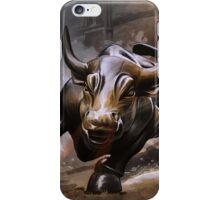 Raging Bull.New York. iPhone Case/Skin