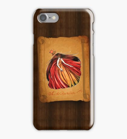 Who is the Mad Hatter ? Red Riding Hood iPhone Case/Skin