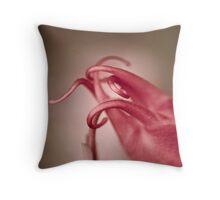 Aquilegia's elegance Throw Pillow