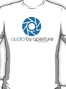 audio by aperture (Aperture Tag) T-Shirt