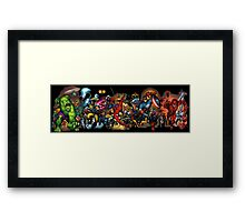 Marvel Avengers Assamble Framed Print