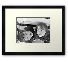 Silly Silly Silly Framed Print