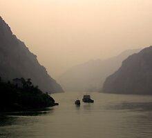 River Cruise by Christina Backus