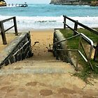 This way for a Swim - Port Campbell Cove by EdsMum