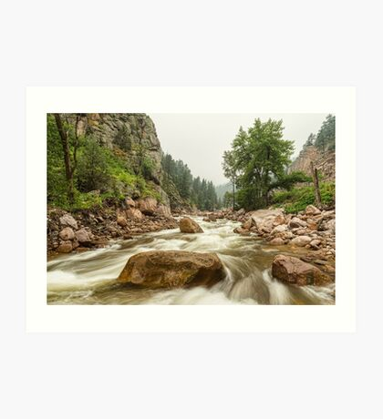 South St Vrain Canyon Boulder County Colorado Art Print
