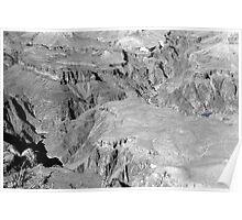 GRAND CANYON sans colour #3 Poster