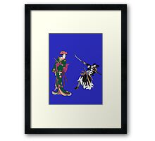 Action 1 Framed Print