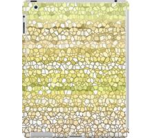 Mustard Beach Grid iPad Case/Skin