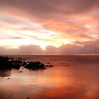 4 Mile Beach Sunrise - Port Douglas - QLD - Australia by Chris Sanchez