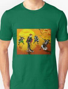 The encounter at sunrise. T-Shirt