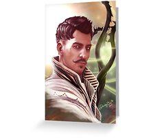 Dorian Pavus Greeting Card