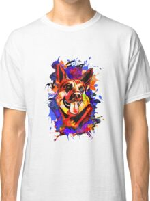 Wolf abstract. Classic T-Shirt