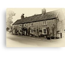 Coxwold Tea Rooms  Canvas Print