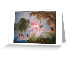 """The Bathers"" Greeting Card"