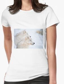 Arctic Wolves Womens Fitted T-Shirt