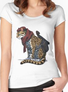 Revolver Ocelot Women's Fitted Scoop T-Shirt