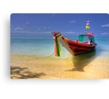 Taxi Boat Canvas Print