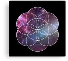 Cosmic Seed of Life Canvas Print