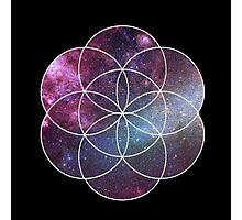 Cosmic Seed of Life Photographic Print