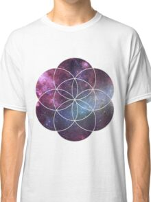 Cosmic Seed of Life Classic T-Shirt