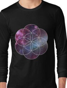 Cosmic Seed of Life Long Sleeve T-Shirt