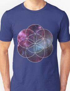Cosmic Seed of Life Unisex T-Shirt