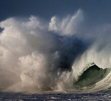 Hawaiian Winter Waves by Alex Preiss