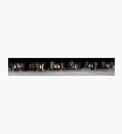 Teen Wolf Cast Poster Photographic Print