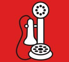 Antique Bakelite Telephone One Piece - Short Sleeve