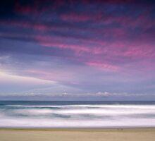 Long Exposure   Stockton Beach by Ross Wood