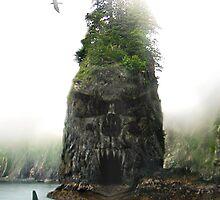 Skull Island by Cliff Vestergaard