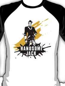Handsome Jack (Colored BG) T-Shirt