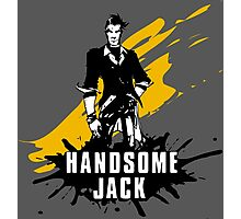 Handsome Jack (Colored BG) Photographic Print